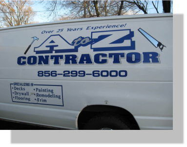 vinyl truck lettering in Salem County NJ